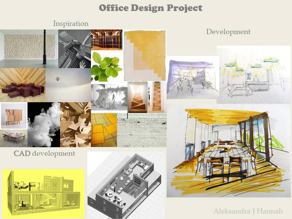 Modern office interior design project in Glasgow