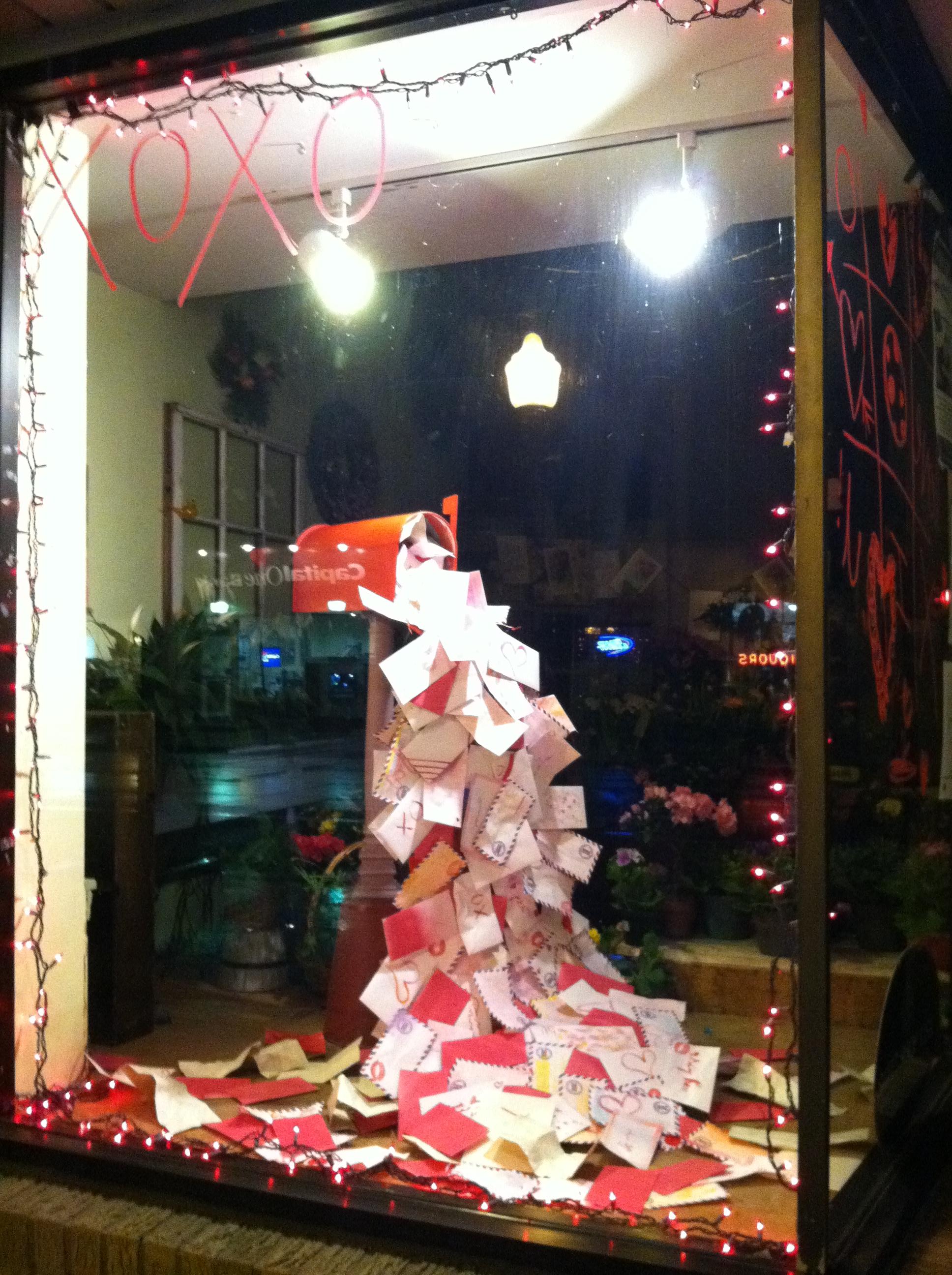 Christmas Windows Interior Design Retail Design Home