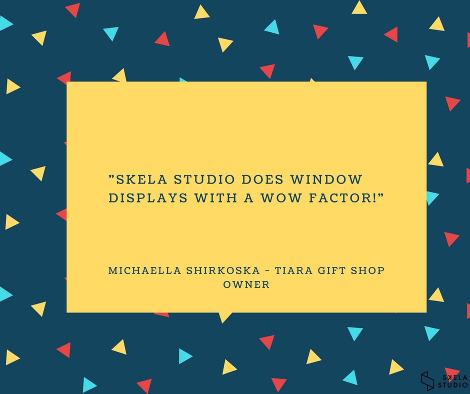 Skela Studio does window displays with a wow factor.