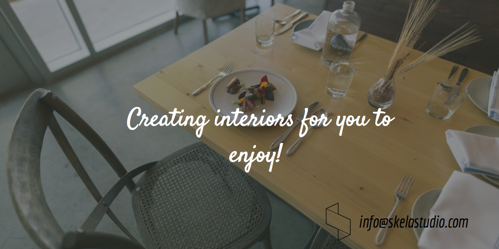 Creating interiors for you to enjoy
