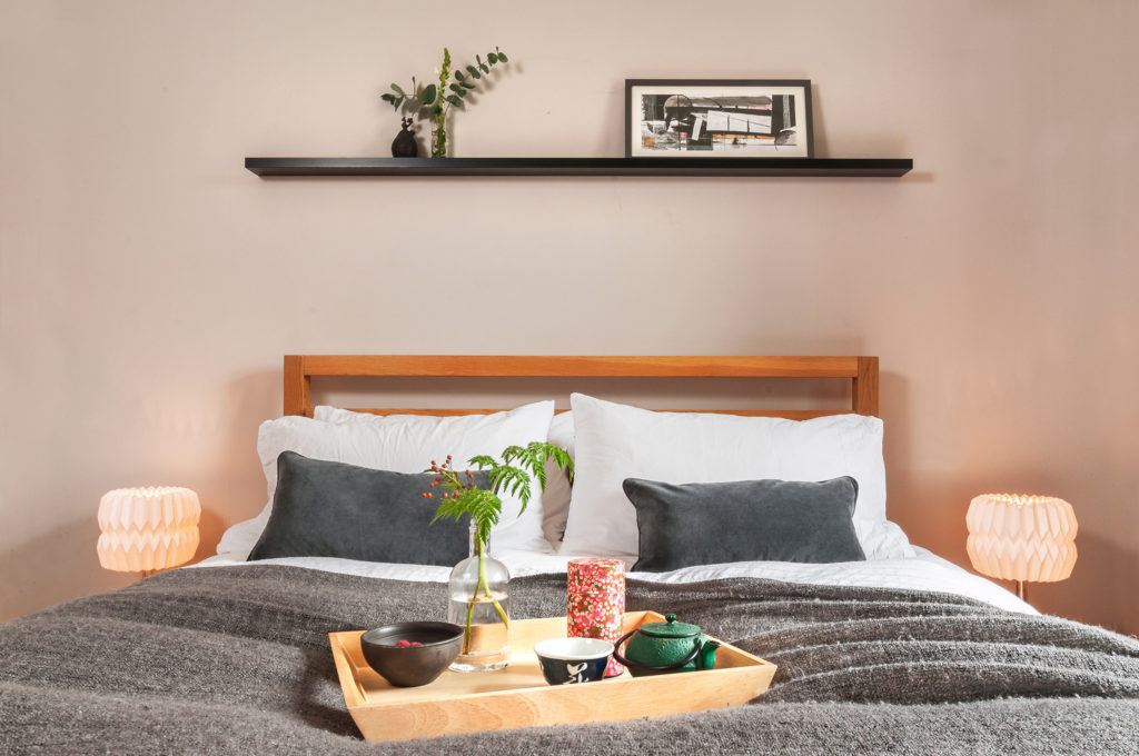 Bedroom design, interior designer Edinburgh