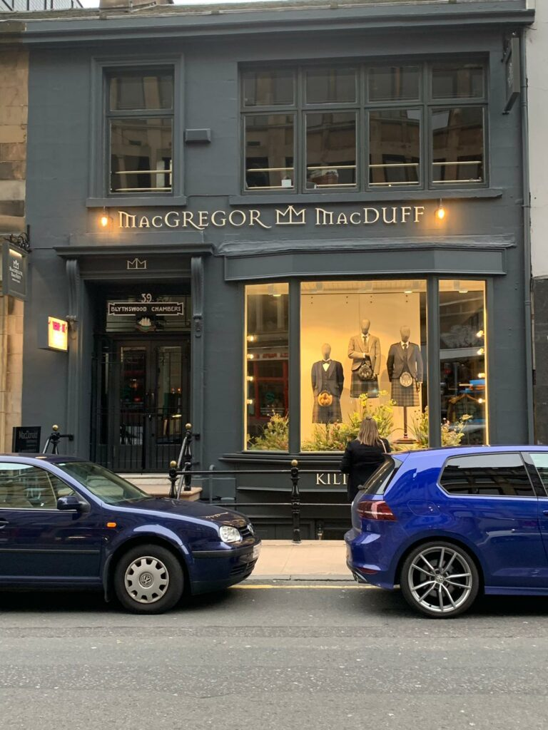 Retail design for independent businesses in scotland - Shop Front
