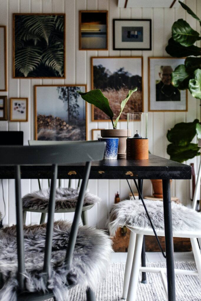 Rearrange the furniture and it will instantly give you a new look of the room